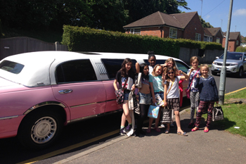 pink-limo-kids-day-out
