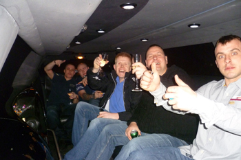 white-limo-interior-stag-do