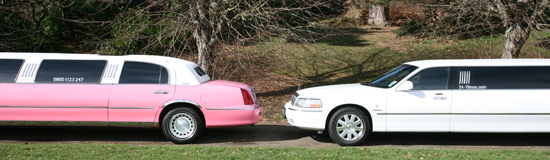 wide-image-pink-and-white-limo-front-and-rear