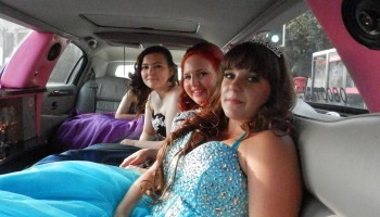 Prom stretch limo hire